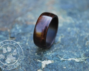 Wooden Ring - Wood Wedding Band - Wood Ring - Bentwood Ring - Wood Engagement Ring - Wooden Wedding Ring - Wooden Wedding Band - Brown