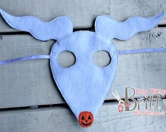 Nightmare Before Christmas, Zero inspired mask