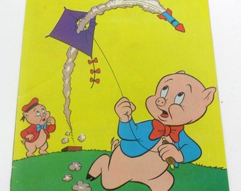 Whitman 104 Porky pig comic