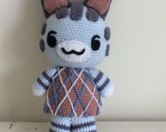 Lolly animal crossing crochet plush