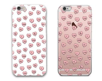BTS Hearts Phone Case, iPhone 5S Case, iPhone 6S Plus, iPhone 7 Case, iPhone 8 Plus, iPhone X, Samsung Galaxy S8 Case, Samsung Galaxy S7