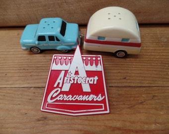 Vintage Aristocrat Caravaners Pin in Pristine condition - Vintage Trailer Memorabilia