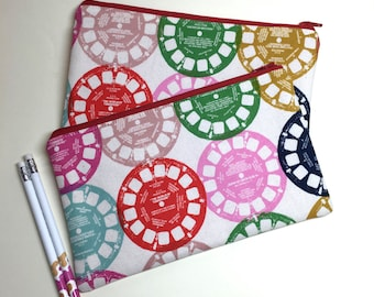 Pencil Case Zip Pouch - Viewfinders