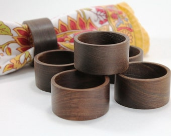 Wood Napkin Rings