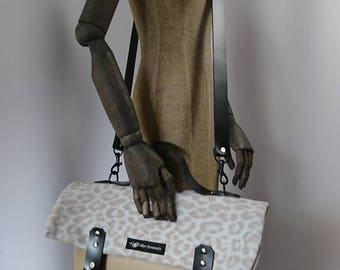 Super Chic bag in fine mix beige
