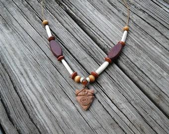 Handmade Arrowhead Necklace