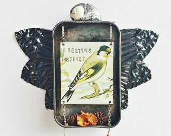 nesting instinct - shrine, niche, assemblage