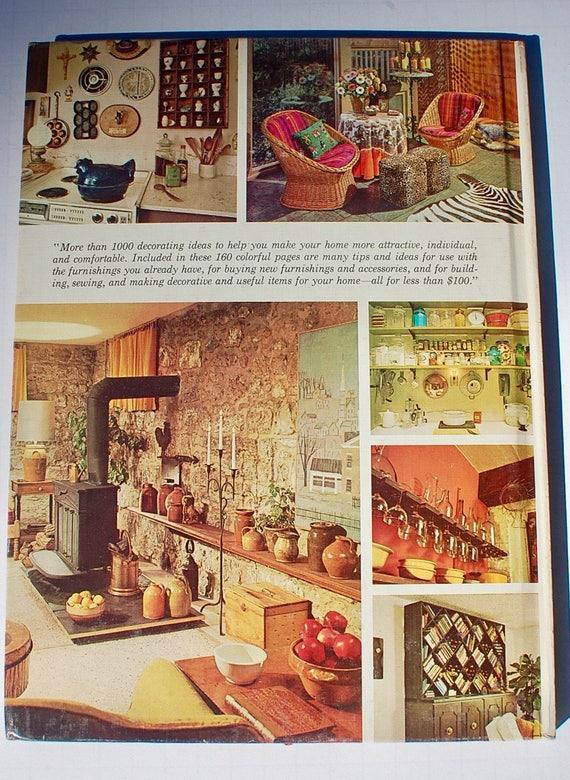 Nice Better Homes And Gardens Decorating Ideas Under 100 Dollars 1971 Vintage  Midcentury Interior Design Book