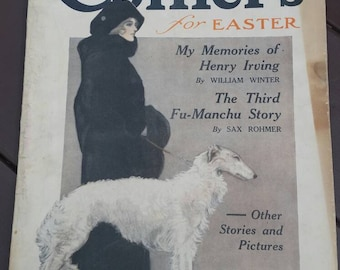 1913 Collier's for Easter magazine Vol 50 No 26 New Orleans impressions