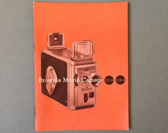 Brownie Movie Camera Manual f 1.9 2.3
