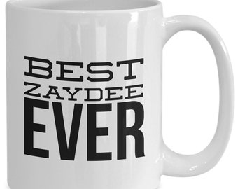 Best zaydee ever - awesome father's day gift, present for jewish grandpa or new grandfather who speaks yiddish