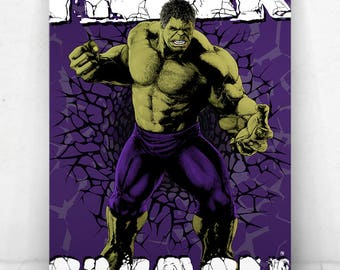 The Hulk Poster - Illustration / The Hulk Poster / The Hulk