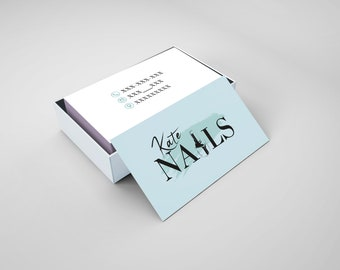 Nail artist business card nail salon business card business nail artist business card nail salon business card business card nails business card colourmoves
