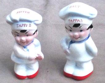 Salt Pepper Shakers Tappan Ramge Chefs