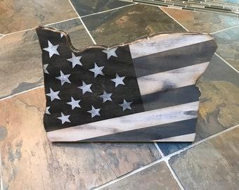 American Flag/Oregon Art