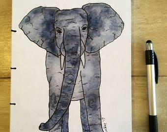 Handmade Elephant Notebook