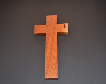 """Wood Wall Cross;5""""x9""""x1"""";Christian Gift;Baptism, Christening; Confirmation; Sympathy; Easter; Graduation; Free Ground Shipping cc20-4022417"""