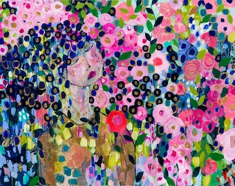 Original Painting--Her Layers Make Her Beautiful