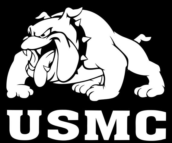 USMC yeti decal , Marine Corps Pride Decal, Decals for trucks, USMC Decals, Marine Decals, boot camp graduation, cup decal,