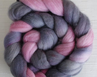 Polwarth Roving - Handpainted Fiber for Felting or Spinning
