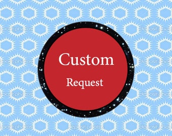 custom request, Special request, Add text. Add names,  add text / name to your listing, personlized