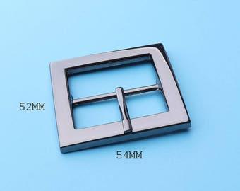 Buckles,Nickel Square Black Buckles, Purse Handbag Bag Making Hardware Supplies--54*52mm  fk5