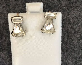 Vintage Bell Shaped Earrings Clip on