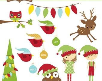 Holly Jolly Christmas Clip Art