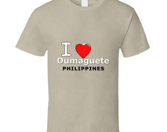 I Heart Dumaguete Philippines T Shirt