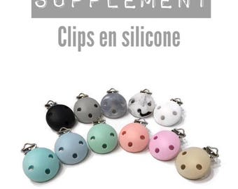 Extra - Clip silicone for clip - choose color