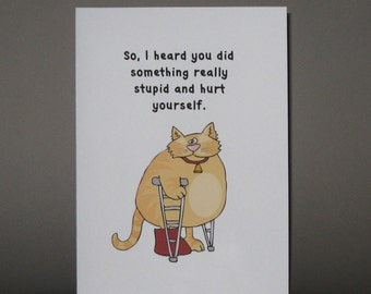 il_340x270.611572668_4sfq?version=0 funny get well card wishing a speedy recovery funny cat
