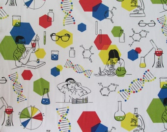 In the Beginning Fabrics Chemistry Lab from the CHROMATICS Collection- yards