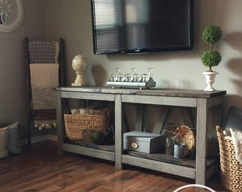 Farmhouse Console Table (Pickup/Local Delivery Only)