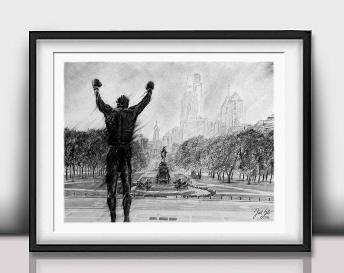 """""""Philly Strong"""" Limited Edition art print - 20x24 inches"""