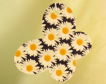 Crazy Daisy Pattern Car Air Freshener, Butterfly