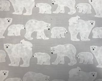 Oval Crib fitted sheet with Bears