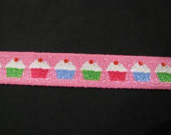 cupcake foldover elastic FOE 15mm per 1m hair headband