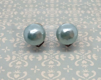 Pearl Cabochon-Light blue-Vintage Rose