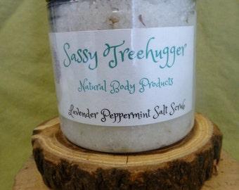 Lavender Peppermint Sea Salt Scrub