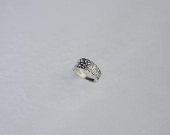 Window arris,925 silver,  ring