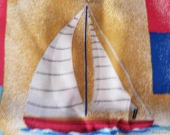 New, Light House, Nautical,  Ocean, Beach Fabric,
