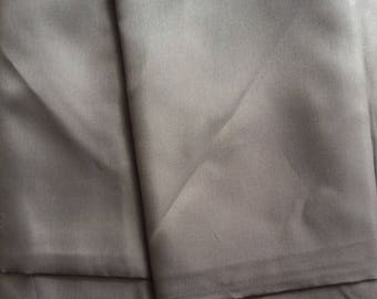 Charcoal gray lining for sewing clothing creations haberdashery fabric