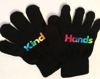 Kind hands gloves, autism help, behaviour help,