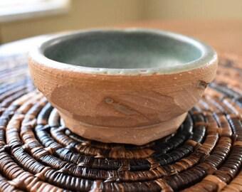 "Ceramic bowl, handmade, 3.5"""