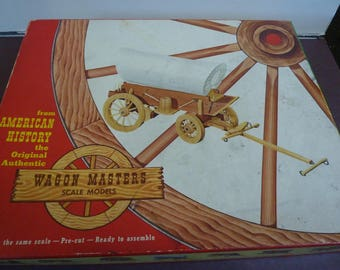 Vintage Wagon Masters Authentic Covered Wagon Model