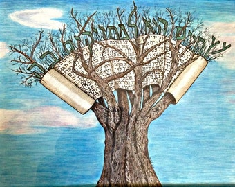Tree of Life print   11 x 14
