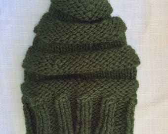 Young Adult Handknit Beanie