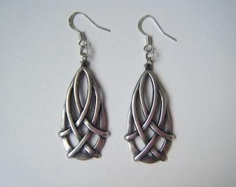 Earrings drops ♥ Celtic silver ♥