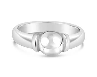 """Made on Cape Cod. Cape Cod Nautical """"Beachball"""" Ring in solid 925 Sterling Silver. NEW IN BOX"""