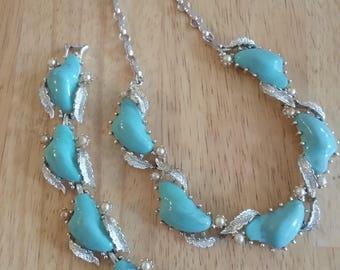 50s Necklace and Bracelet Set